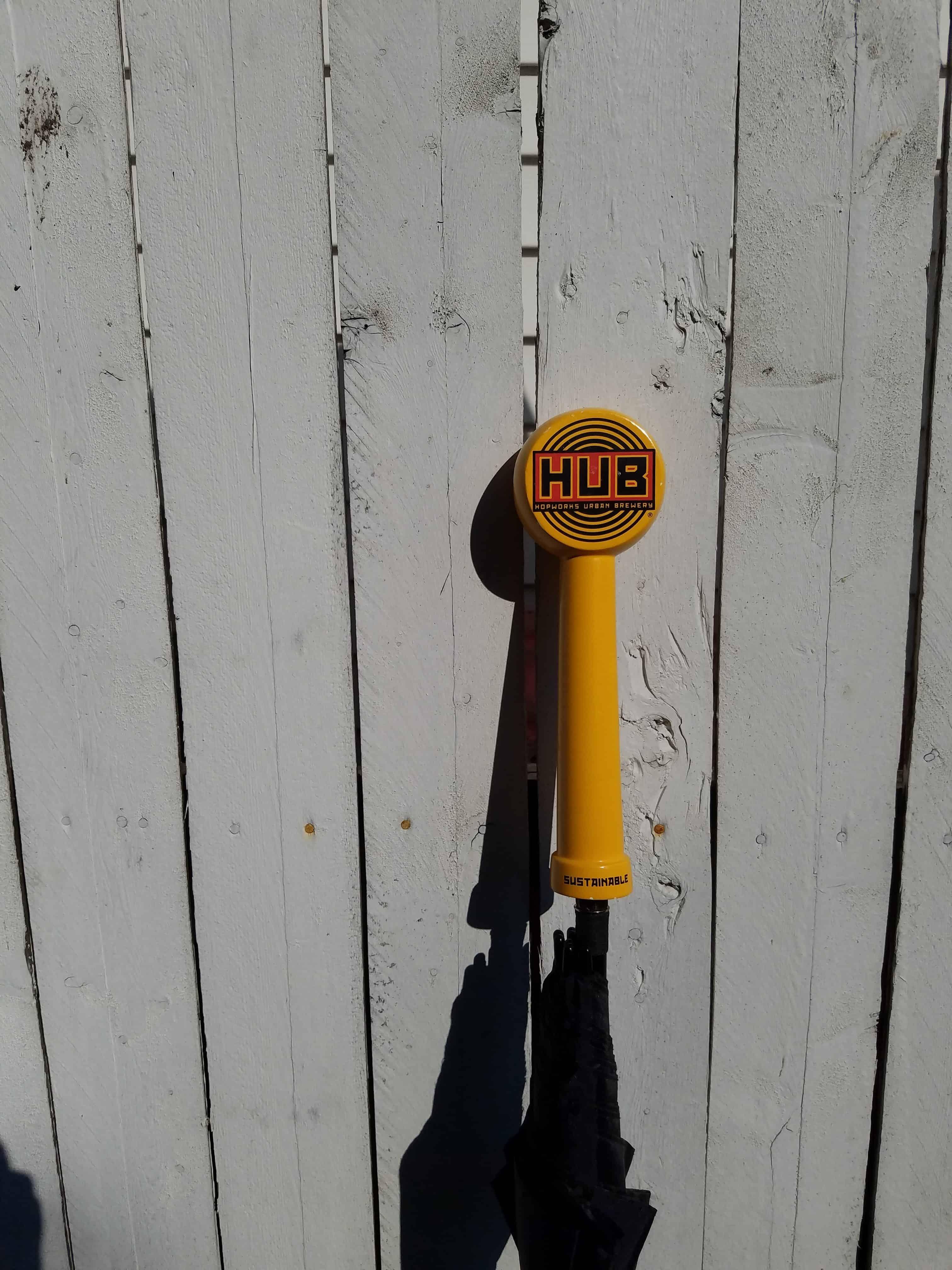 Hopworks (HUB) Tap Handle Umbrella