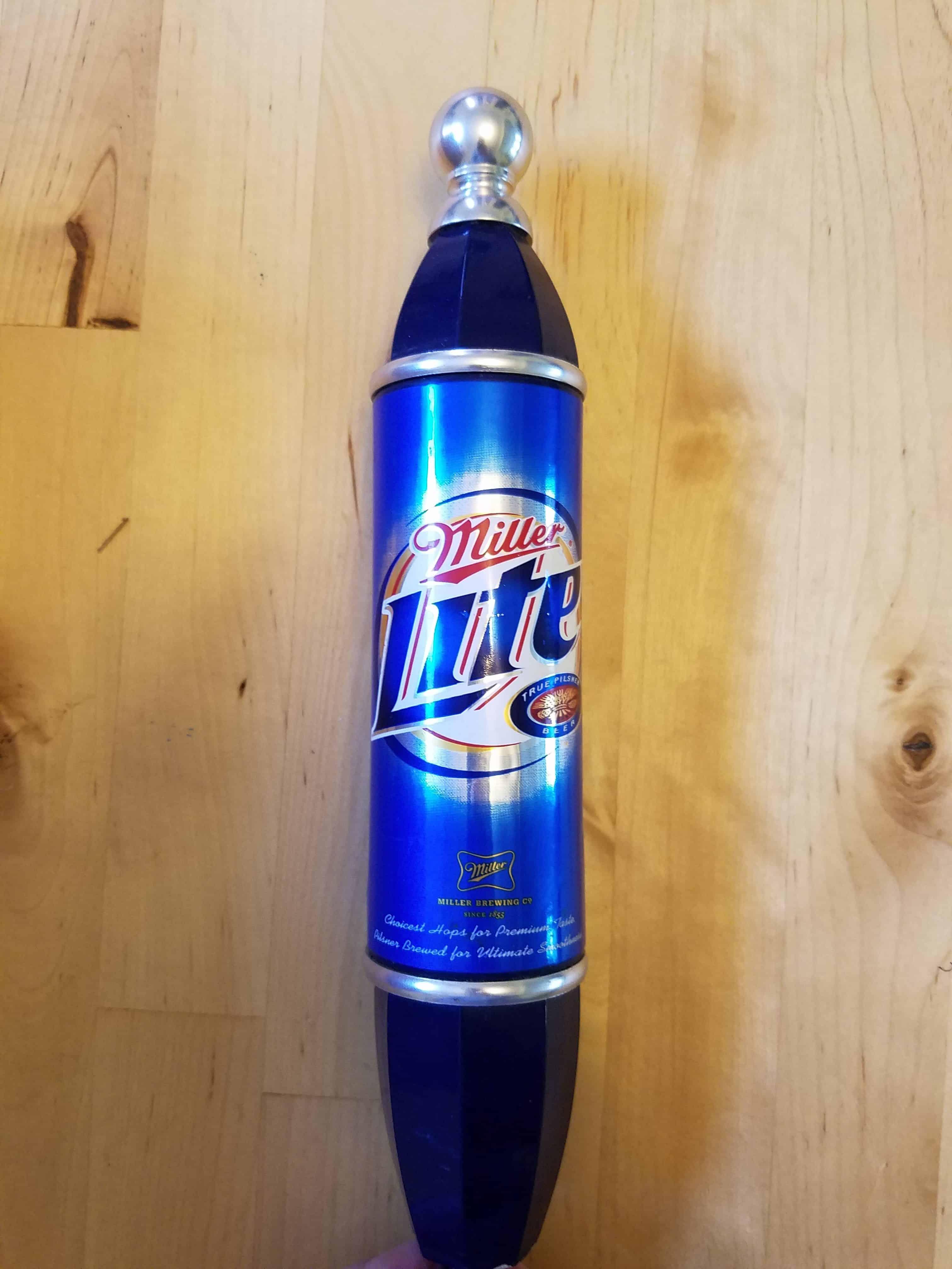 Miller Lite Tap Handle
