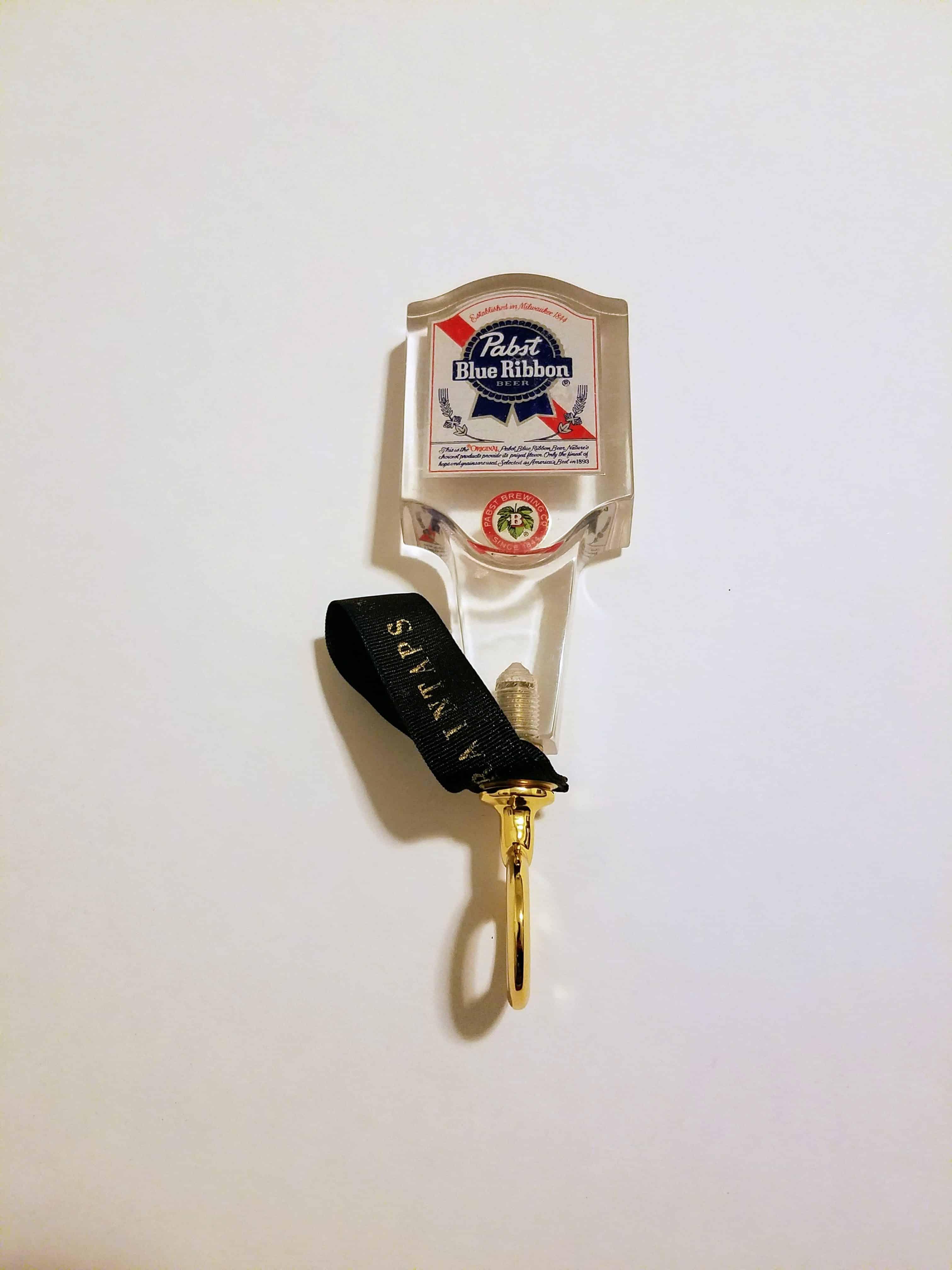 vintage pbr tap handle bottle opener (lucite v2)