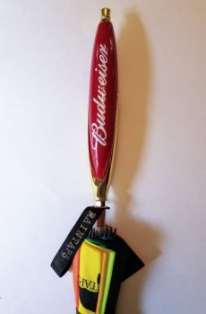 Budweiser Beer Tap Handle Umbrella