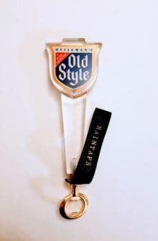 Vintage Heileman's Old Style tap handle bottle opener